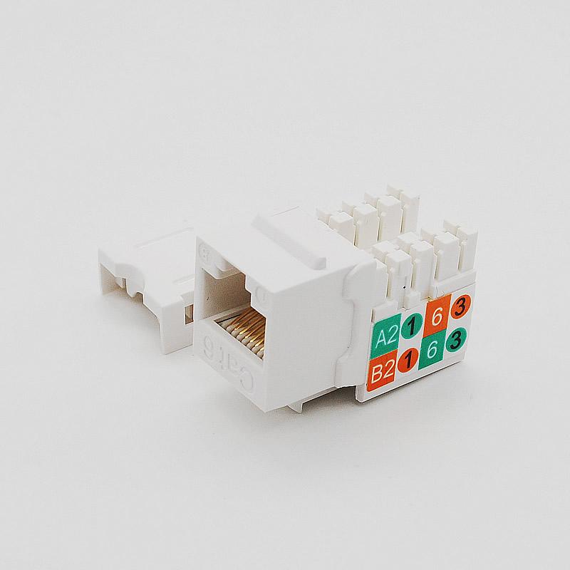 六类非屏蔽信息模块/3013A-EO8F-C6ABL