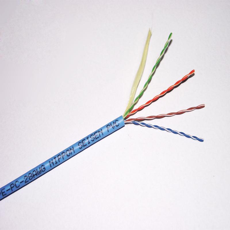 超五类 SPE 细径网络线/4P SPE-PC
