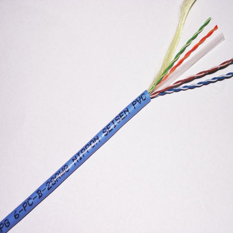 六类 SPG6 细径网络线/4P SPG6-PC