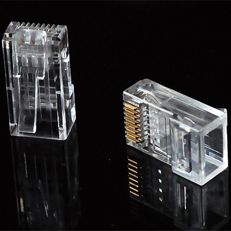 超五类非屏蔽水晶头/DNC 8P8C CAT5e 50U