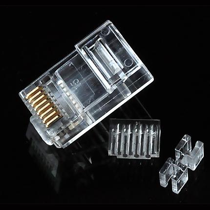 六类非屏蔽水晶头/DNC 8P8C CAT6 50U