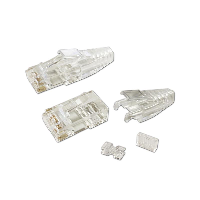 超六类非屏蔽水晶头/PC6TJASR0819-23NEC