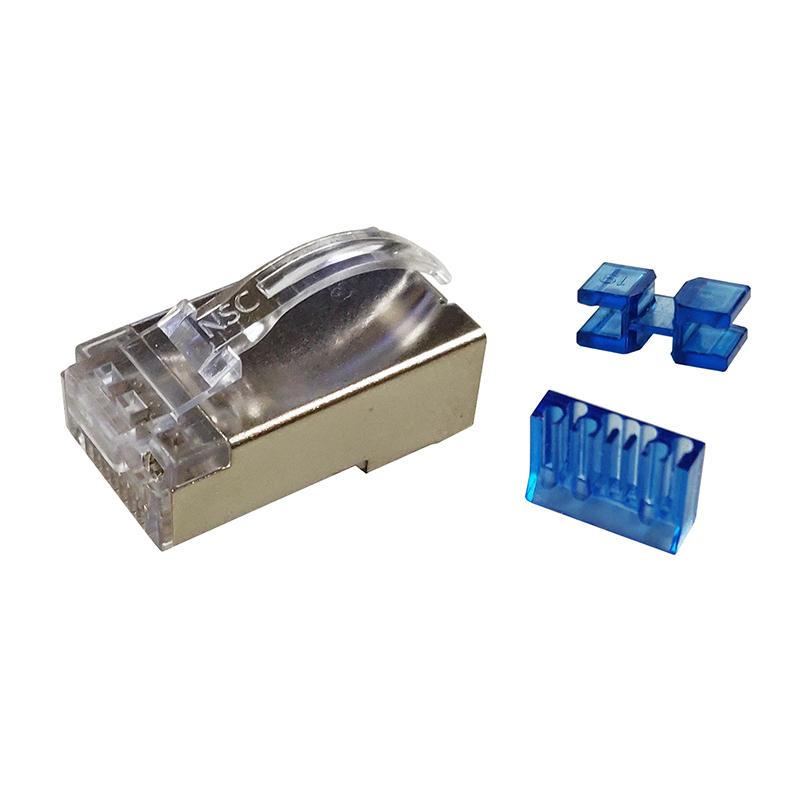 专利型六类屏蔽水晶头/T-C6Q6J10E-93NA