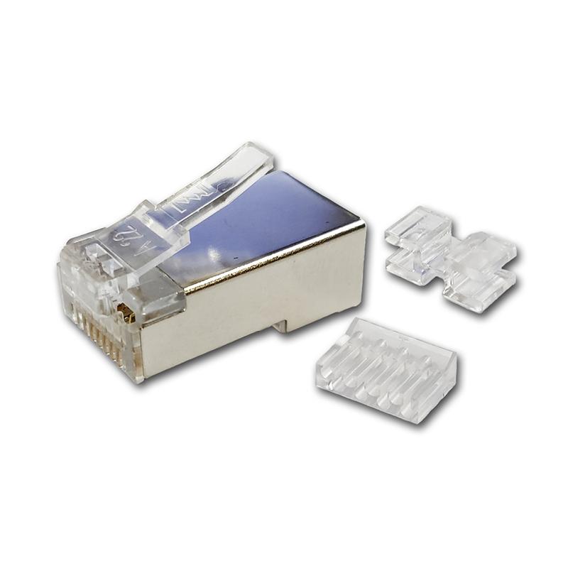 六类屏蔽水晶头/T-C6TBA-23NEA