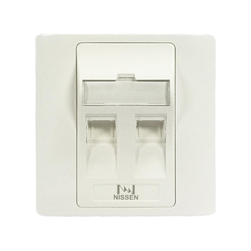 双层双口光纤面板/625B37-2-AID