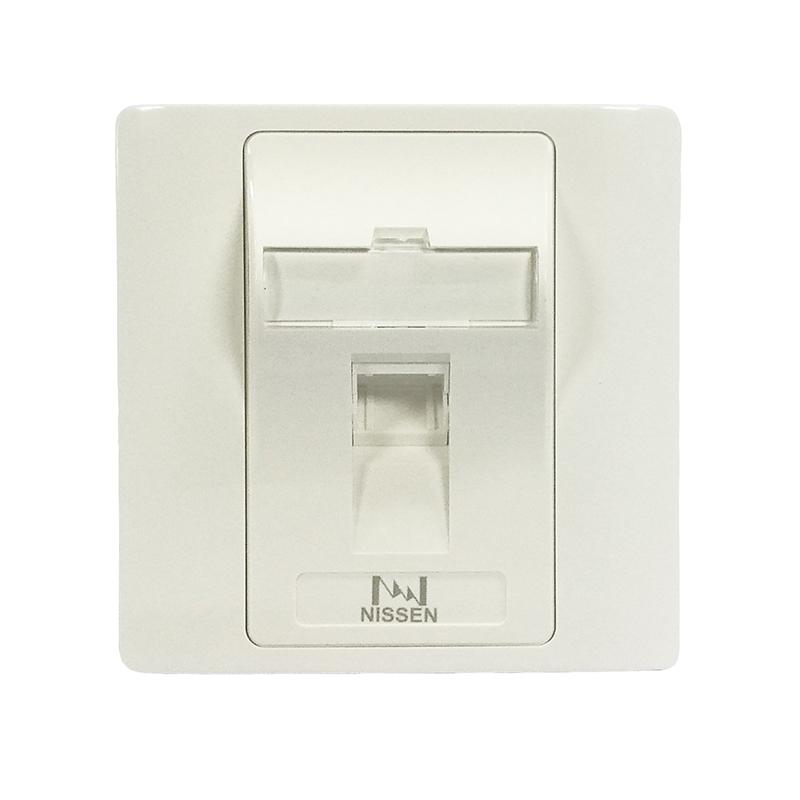 双层单口光纤面板/625B37-1-AID