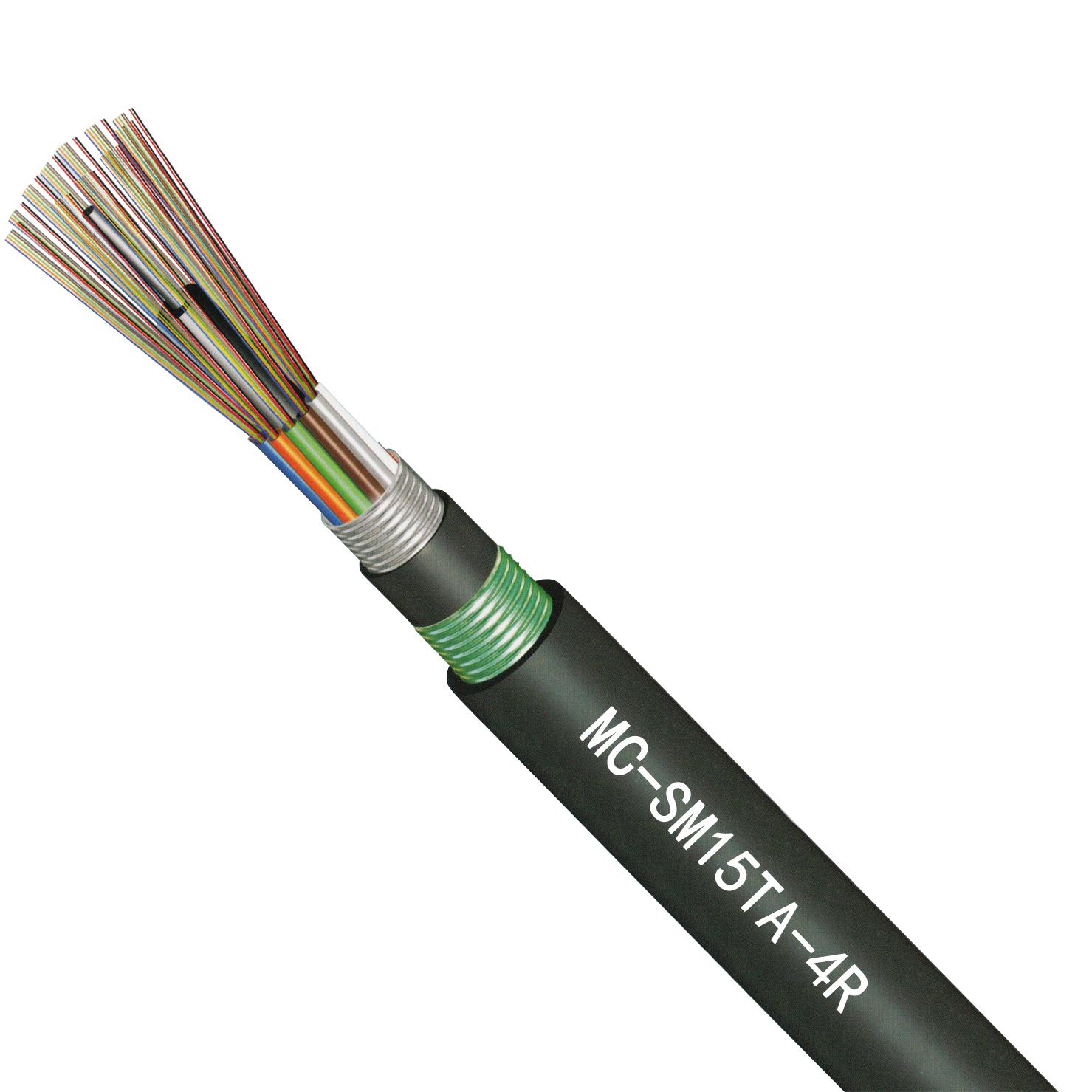 GYTA室外单模层绞式光缆4芯(4-144芯)/MC-SM15TA-4R